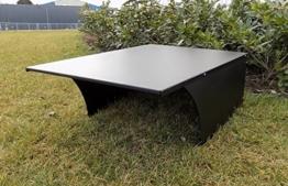 Metall Garage für Rasenmähroboter