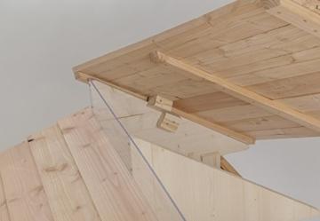Mähroboter Garage aus Holz